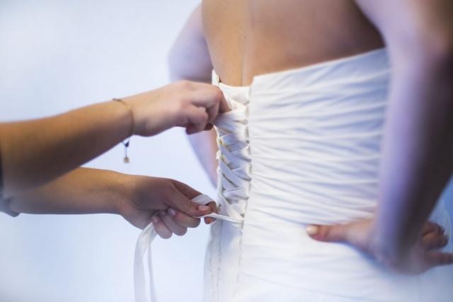 Habillage - Préparatifs mariée